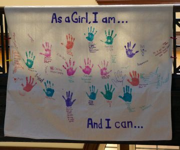 "YWLP ""As a Girl I Can"" Banner"