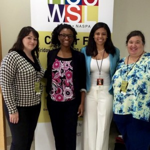 Students and Staff at NCCWSL