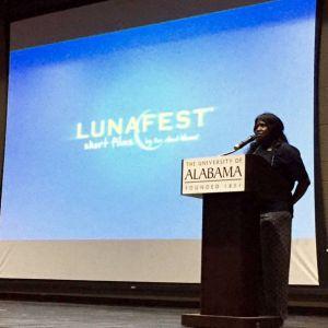 Dr. Kelley at Lunafest