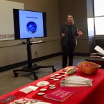 Ready to Run trainer Pat Vandermeer presents to an audience of UA students and staff