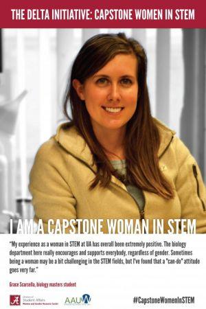 Grace Scarsella, a Capstone Woman in STEM