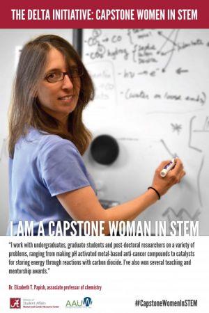 Dr. Elizabeth Papish, a Capstone Woman in STEM