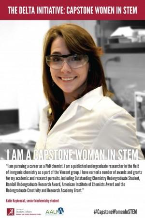 Katie Kuykendall, a Capstone Woman in STEM