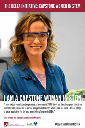 Kerry Barnett, a Capstone Woman in STEM