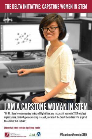 Shuwen Yue, a Capstone Woman in STEM