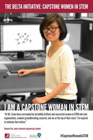 Shuwen Yue, a Capstone Woman in STEM