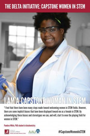 Pandora White, a Capstone Woman in STEM